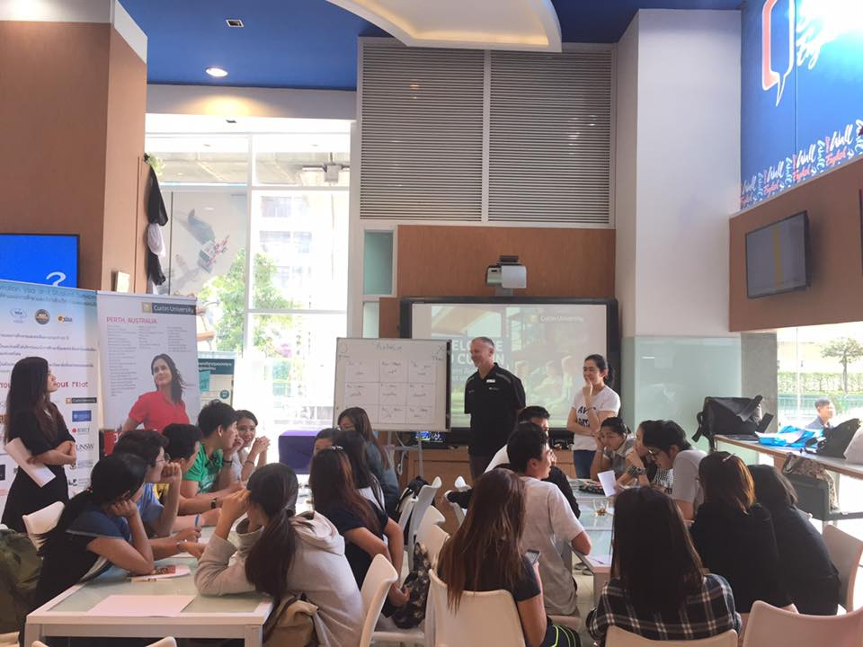 AVSS Work and Holiday Activity at Wall Street English