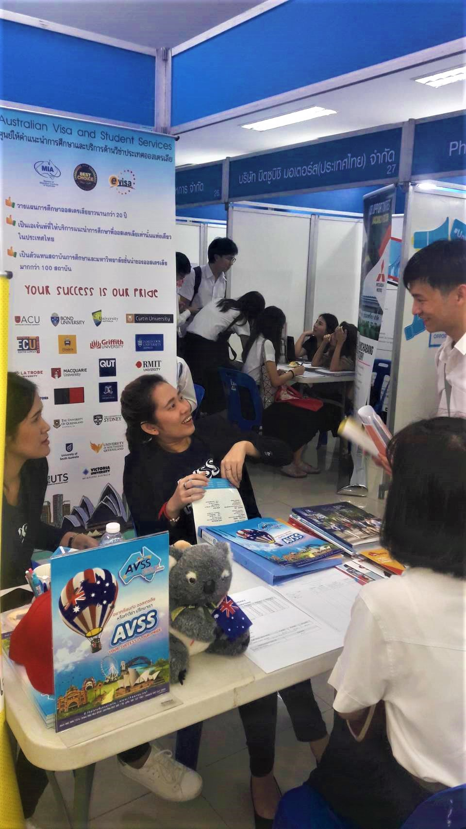 Job and Education Fair at Kasetsart University 2018